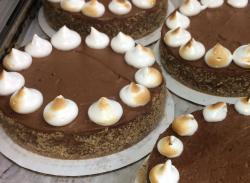 Chocolate Hazelnut Mouse Torte